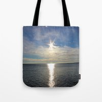 shining Tote Bags featuring Shining by NaturallyJess