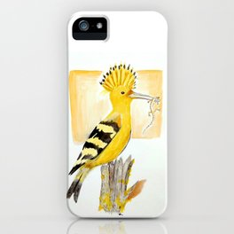 Hoopoe iPhone Case