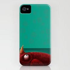 Red Creature iPhone (4, 4s) Slim Case