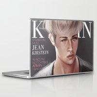 snk Laptop & iPad Skins featuring SnK Magazine: Jean by emametlo