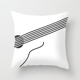 Strummin' Along Throw Pillow