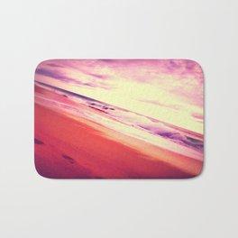 Twisted Pink Beach Bath Mat