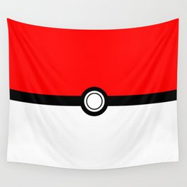 Gotta catch em all Pokeball Wall Tapestry
