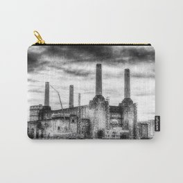 Battersea Power-Station London Snow Carry-All Pouch