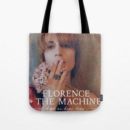 FLORENCE THE MACHINE HIGH AS HOPE TOUR DATES 2019 GURITA Tote Bag