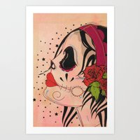 gypsy Art Prints featuring Gypsy by Dioni Pinilla