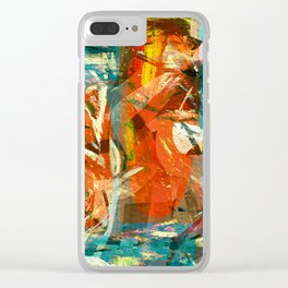 Arrival to the New World Clear iPhone Case