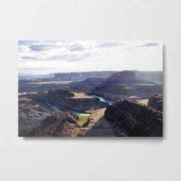 Dead Horse Point State Park Overlook Utah Metal Print