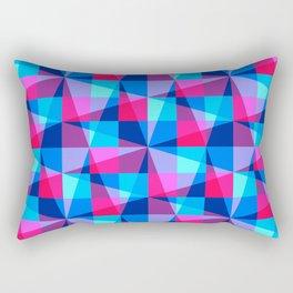 Overlapping grids Rectangular Pillow