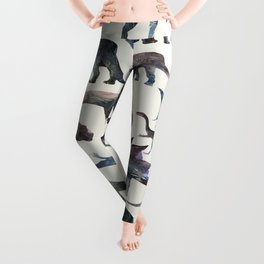 Dinosaurs Pattern Leggings