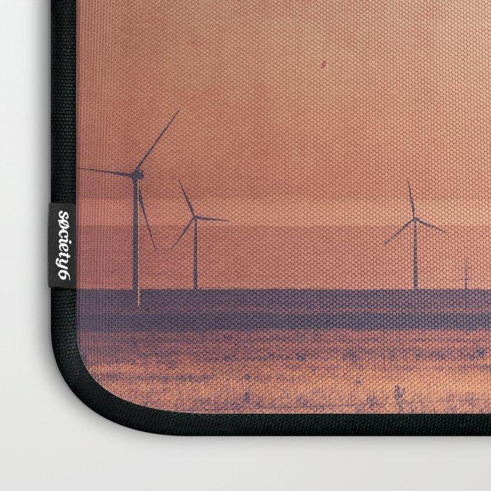 Southwest Windmills Route 66 Laptop Sleeve