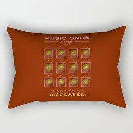 Made to be Displayed — Music Snob Tip #33⅓ B Rectangular Pillow