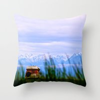 dallas Throw Pillows featuring Dallas Road by Tosha Lobsinger is my Photographer