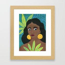 Imani Framed Art Print