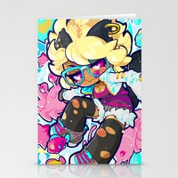 barachan Stationery Cards featuring dive by barachan