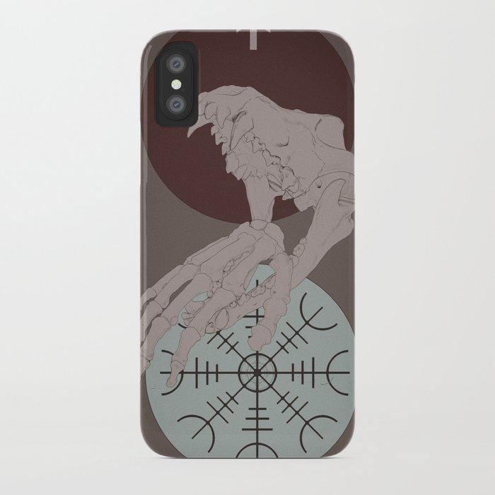 The Binding of Fenrir iPhone Case by sanieslupinus