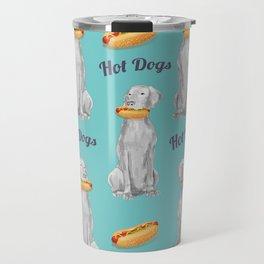 HOT DOGS Travel Mug