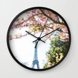 tour eiffel Wall Clock