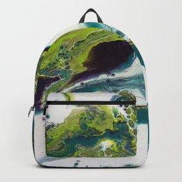 Peacock Island Backpack