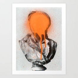 Busted 2 Art Print