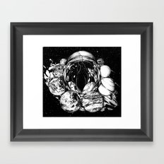 LSD in Space Framed Art Print
