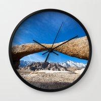 alabama Wall Clocks featuring Alabama Arch by davehare