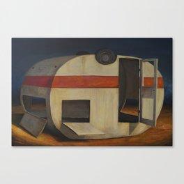 Dead Caravan Canvas Print