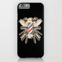 Barber Accessories | Beard Hairdresser iPhone Case