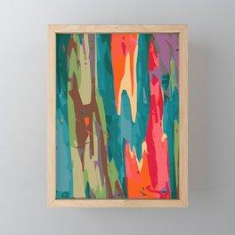 Rainbow Eucalyptus Framed Mini Art Print