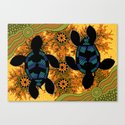 Sea Turtles - Authentic Aboriginal Art by hogartharts