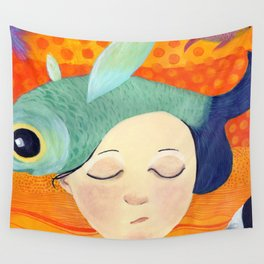 PECES FUERA DEL AGUA Wall Tapestry