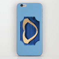 shark iPhone & iPod Skins featuring Shark! by DWatson