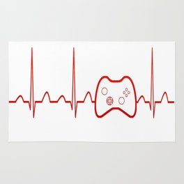 Game Heartbeat Rug