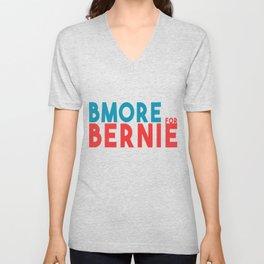 BMORE for Bernie Unisex V-Neck