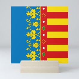 Flag of Valencia Mini Art Print