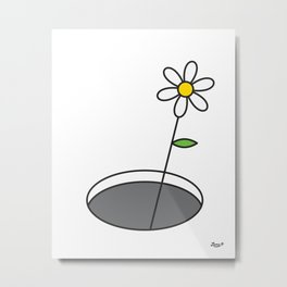You Can Get Out of It Metal Print