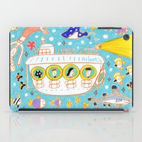 submarine iPad Cases featuring submarine by AW illustrations