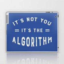 Blame the Social Media Algorithm Laptop & iPad Skin