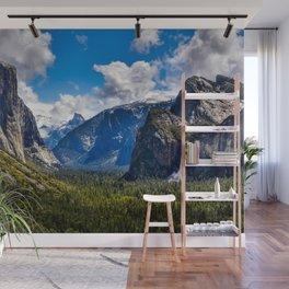 Yosemite Valley And Bridalveil Fall  5-16-19 Wall Mural