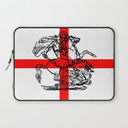 George and the Dragon Patriotic Flag Laptop Sleeve