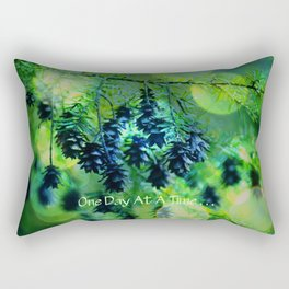 One Day At A Time . . . Rectangular Pillow