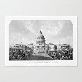 US Capitol Building - Washington DC Canvas Print