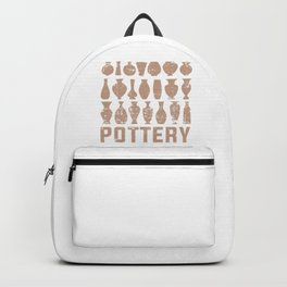 Pottery Backpack