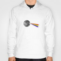 dark side of the moon Hoodies featuring The Dark Side of the Moon by Zach Terrell