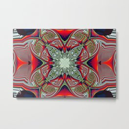 Periodically Tabled Metal Print