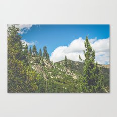 Lake Tahoe Mountains Canvas Print