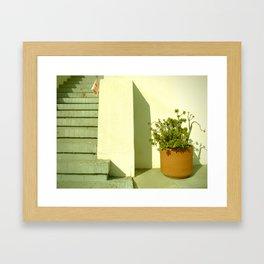 take-out menu Framed Art Print
