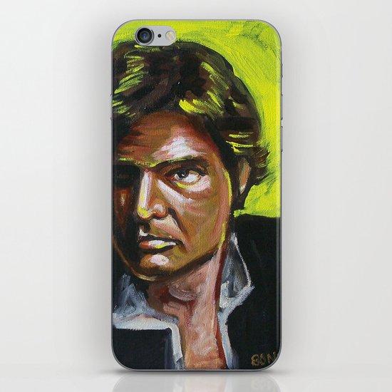 Han Solo iPhone & iPod Skin