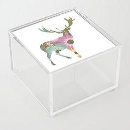 Floral Deer 01 Acrylic Box