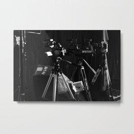 Behind the Scenes Metal Print